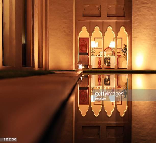 arábia arquitetura estilo - palácio imagens e fotografias de stock