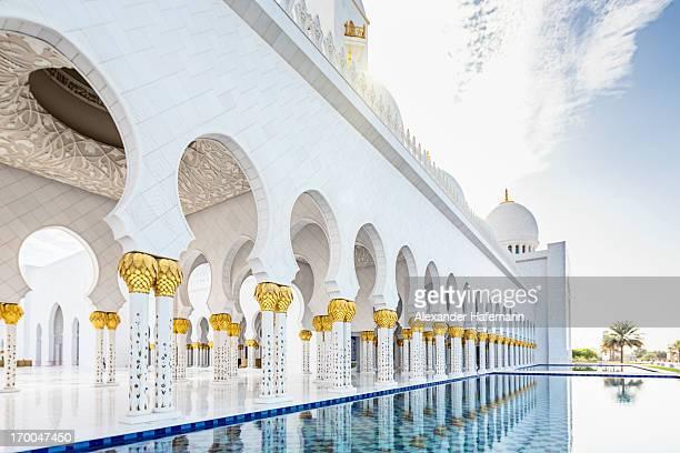 Arabian Architecture Abu Dhabi Mosque