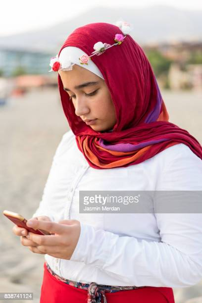 77 Hijab Girl Sad Photos And Premium High Res Pictures Getty Images