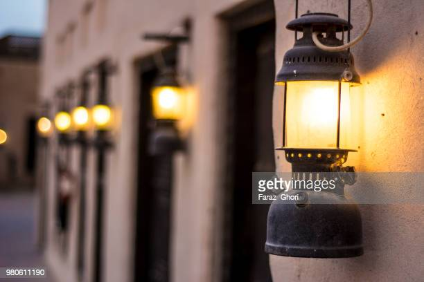 arabian lamp, dubai, uae - tradition stock pictures, royalty-free photos & images