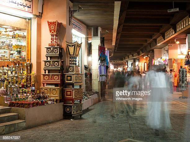 Arabian market (souk) in Muscat, Oman