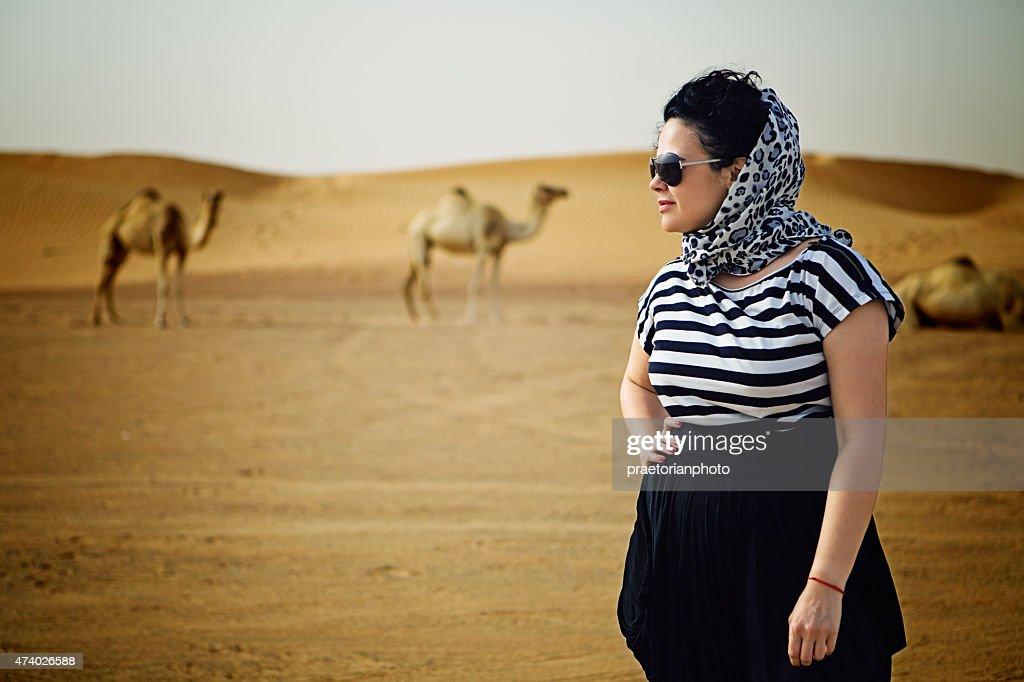 Arabian woman : Stock Photo