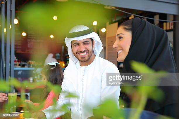 arabian young family - united arab emirates stock pictures, royalty-free photos & images