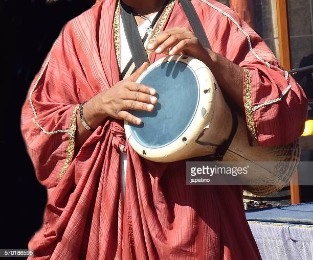 Arabic musician. Drum