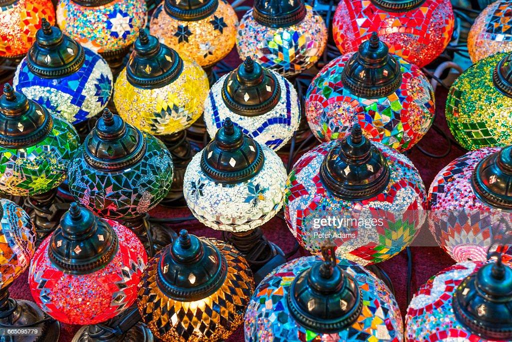 Arabic Oil Lamps Dubai Stock Photo - Getty Images