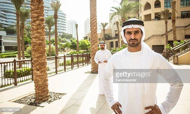 arabic sheik portrait standing on the city - sultan stock pictures, royalty-free photos & images