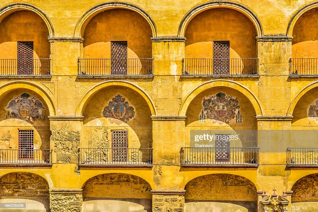 Arabicstyle Decor On Old Building Stock Photo | Getty Images