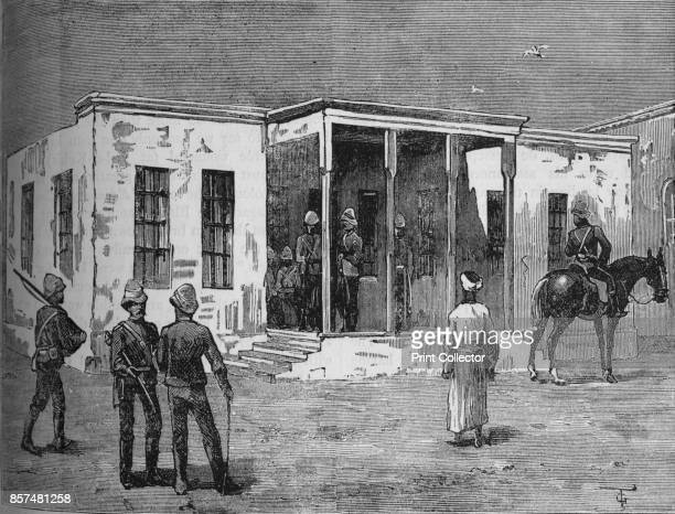 Arabi's Prison in the Abbassieh Barracks' circa 1882 Episode of the AngloEgyptian War From British Battles on Land and Sea Vol IV by James Grant...