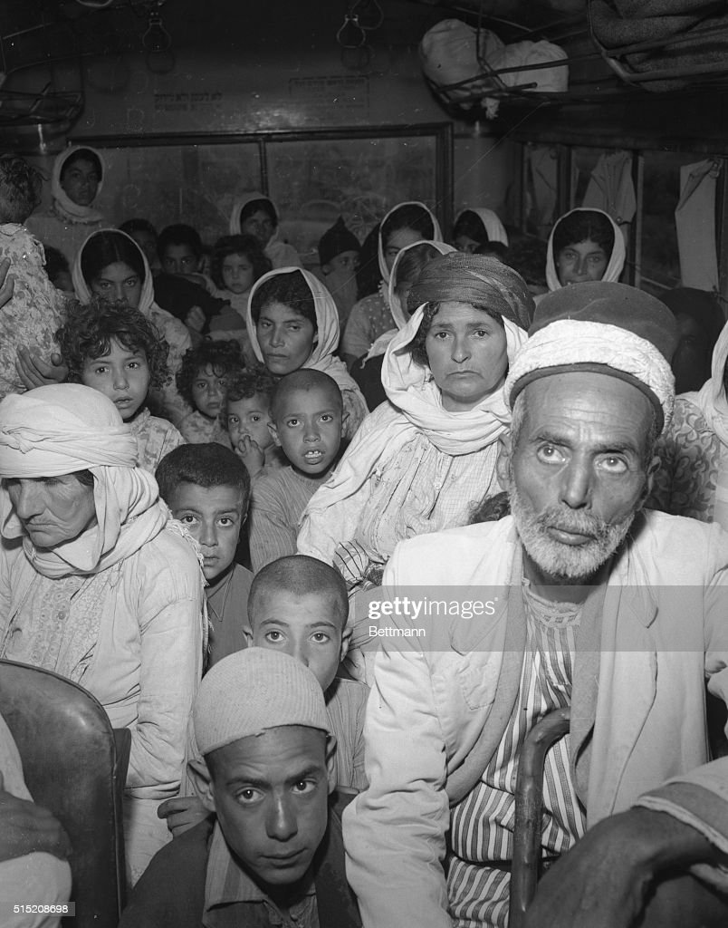 Arab Refugees : News Photo