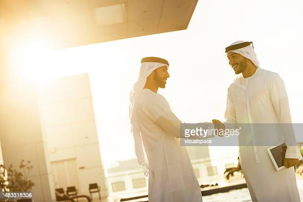 Arabs Shaking Hands