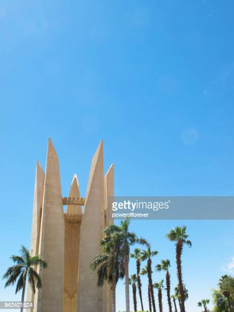 Arab-Soviet Friendship Monument in Aswan, Egypt