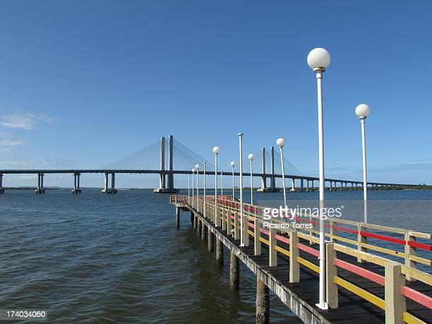 aracaju barra bridge - brasil sergipe aracaju - fotografias e filmes do acervo