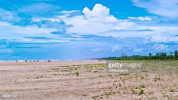 aracaju beach - crmacedonio stockfoto's en -beelden