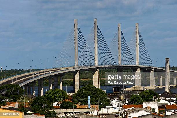 aracaju-bar bridge of coconut trees - brasil sergipe aracaju - fotografias e filmes do acervo
