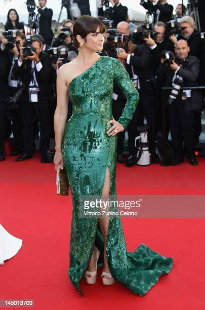 Araceli Gonzalez arrives at 'Killing Them Softly' Premiere during the 65th Annual Cannes Film Festival at Palais des Festivals on May 22 2012 in...