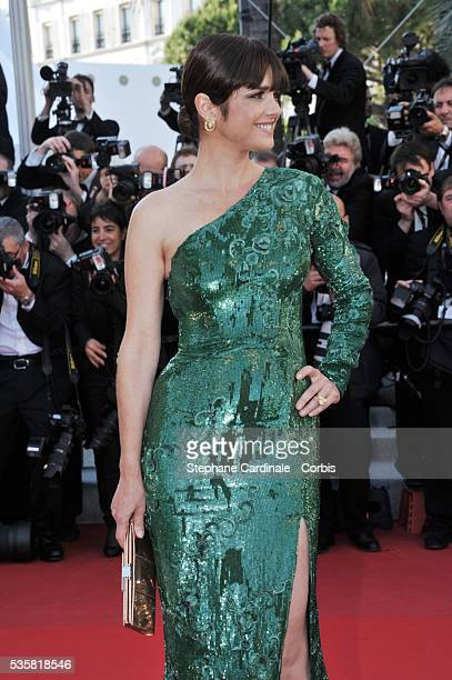 Araceli Gonzalez at the premiere for 'Killing them softly' during the 65th Cannes International Film Festival