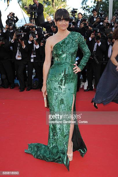 Araceli Gonzalez at the premiere for Killing them softly during the 65th Cannes International Film Festival
