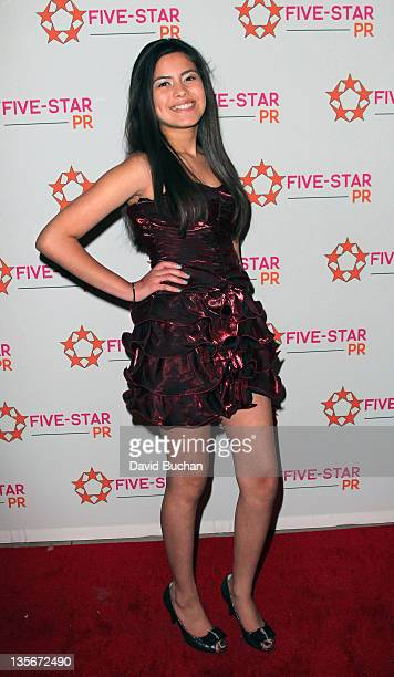 Araceli Gonzalez attends A Place Called Home Holiday Benefit on December 10 2011 in Hollywood California