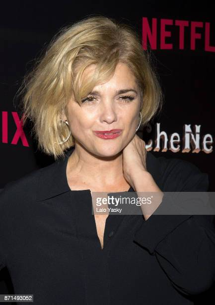 Araceli Gonzalez attends the 'Che Netflix' red carpet at the Four Season Hotel on November 7 2017 in Buenos Aires Argentina
