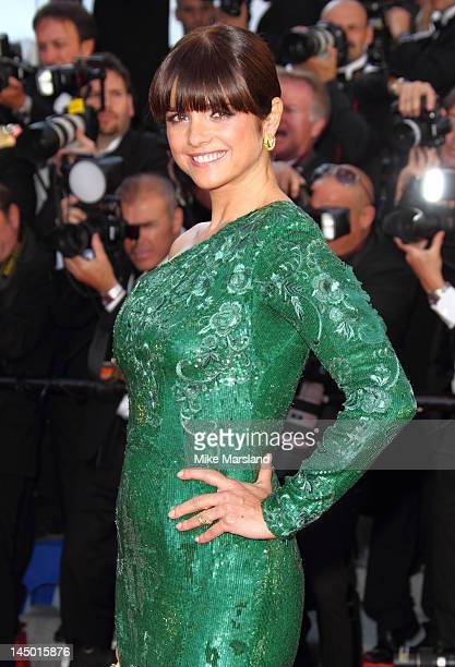 Araceli Gonzalez attends the 'Killing Them Softly'' Cannes Classics Premiere during the 65th Annual Cannes Film Festival at Palais des Festivals on...