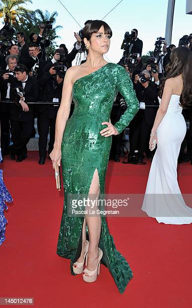 Araceli Gonzalez attends the 'Killing Them Softly' Premiere during 65th Annual Cannes Film Festival at Palais des Festivals on May 22 2012 in Cannes...