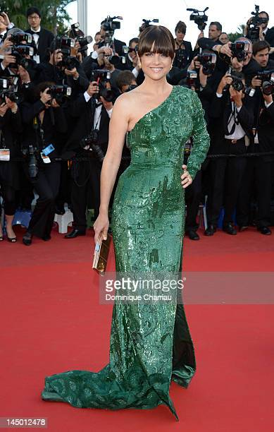 Araceli Gonzalez attends the 'Killing Them Softly' Premiere during the 65th Annual Cannes Film Festival at Palais des Festivals on May 22 2012 in...