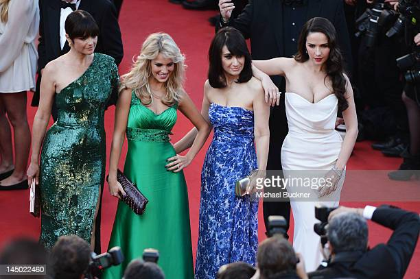 Araceli Gonzalez Luisana Lopilato Maria Laura Santillan and Natalia Oreiro and attends the 'Killing Them Softly' Premiere during 65th Annual Cannes...