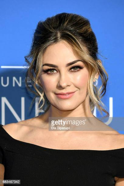 Aracely Arambula attends the 2017 NBCUniversal Upfront at Radio City Music Hall on May 15 2017 in New York City