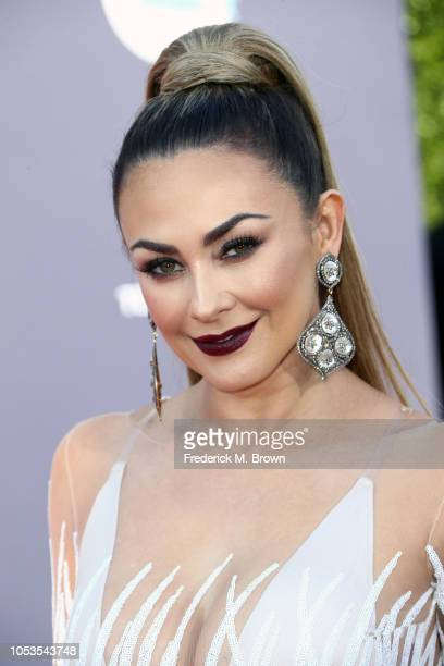 Aracely Arambula attends the 2018 Latin American Music Awards at Dolby Theatre on October 25 2018 in Hollywood California