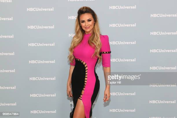 Aracely Arambula attends the 2018 NBCUniversal Upfront Presentation at Rockefeller Center on May 14 2018 in New York City