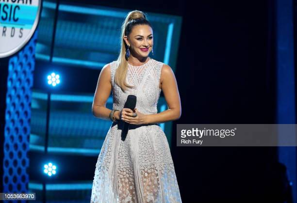 Aracely Arambula speaks onstage during the 2018 Latin American Music Awards at Dolby Theatre on October 25 2018 in Hollywood California