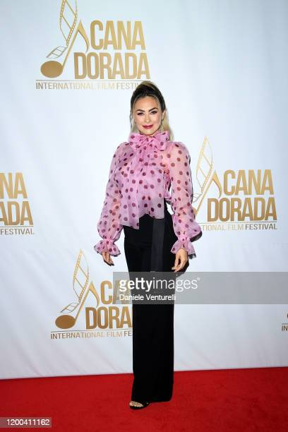Aracely Arámbula attends Cana Dorada Film Music Festival Casino Night TV Shows Night on January 18 2020 in Punta Cana Dominican Republic