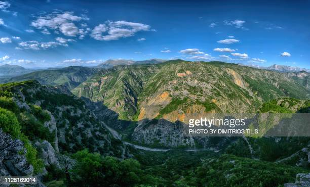 Arachthos gorges & valley panorama