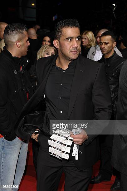 Arafat AbouChaker attends the premiere of 'Zeiten aendern Dich' on February 3 2010 in Berlin Germany