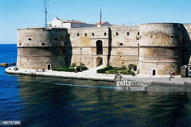 Aragonese castle 15th18th century Taranto Apulia Italy