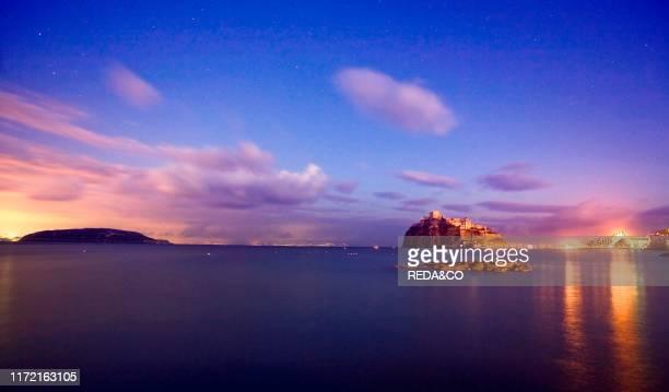Aragonese Castle Ischia island Campania Italy Europe