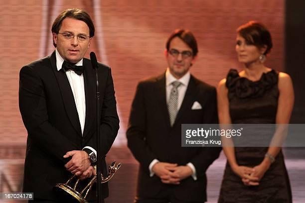 Aram Radomski Bei Der 61. Bambi Verleihung In Der Metropolishalle Des Filmparks Babelsberg In Potsdam .