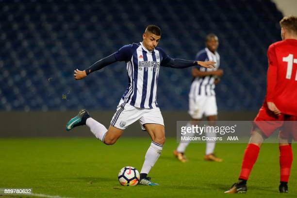 Aram Soleman of West Bromwich Albion during the FA Youth Cup game between West Bromwich Albion and Leyton Orient on December 5 2017 in West Bromwich...
