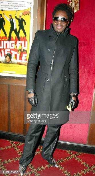 Aramis during Kung Fu Hustle New York City Premiere at Zeigfeld Theater in New York City New York United States