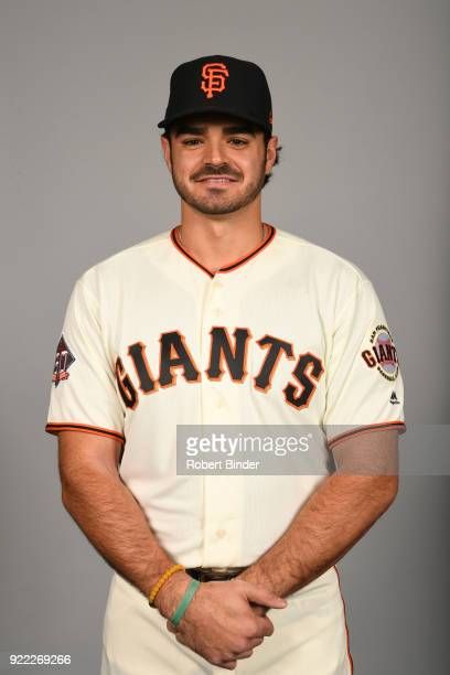 Aramis Garcia of the San Francisco Giants poses during Photo Day on Tuesday February 20 2018 at Scottsdale Stadium in Scottsdale Arizona