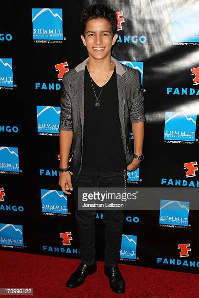 Aramis Knight attends the Summit Entertainment's Comic-Con Red Carpet Press Event - Comic-Con International 2013 at Hard Rock Hotel San Diego on July...