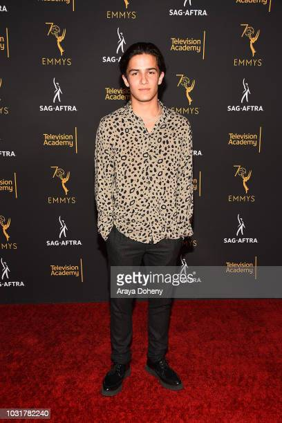Aramis Knight attends the Television Academy and SAGAFTRA CoHost Dynamic Diverse Emmy Celebration at Saban Media Center on September 11 2018 in North...
