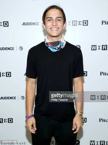 Aramis Knight of 'Into the Badlands' attends the 2018 WIRED Cafe at Comic Con presented by ATT Audience Network at Omni Hotel on July 21 2018 in San...