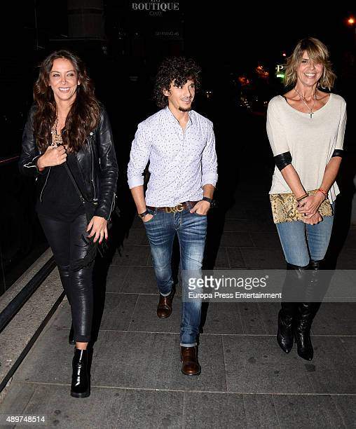 Arancha de Benito and Agustin Etienne attend Terelu's 50th birthday party on September 23 2015 in Madrid Spain