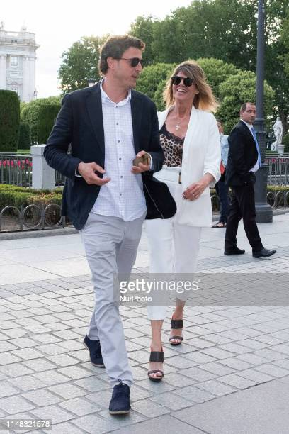 Arancha de Benito attends a photocall before David Bisbal concert at Royal Theatre on June 05 2019 in Madrid Spain David Bisbal has organized a...