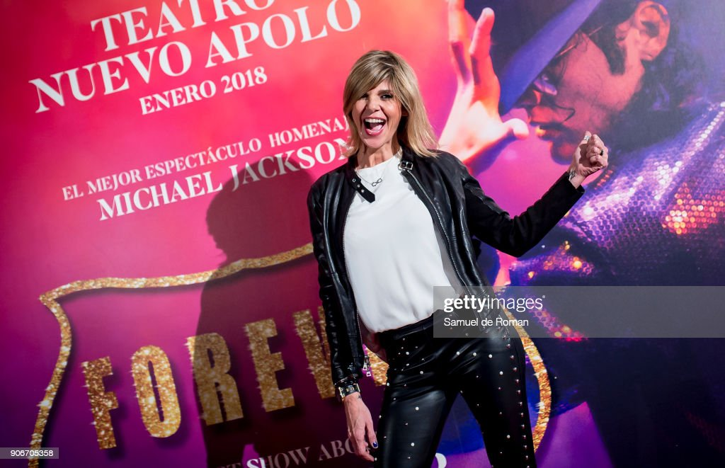 Arancha de Benito attends the 'Forever Jackson' Madrid Premiere on January 18, 2018 in Madrid, Spain.