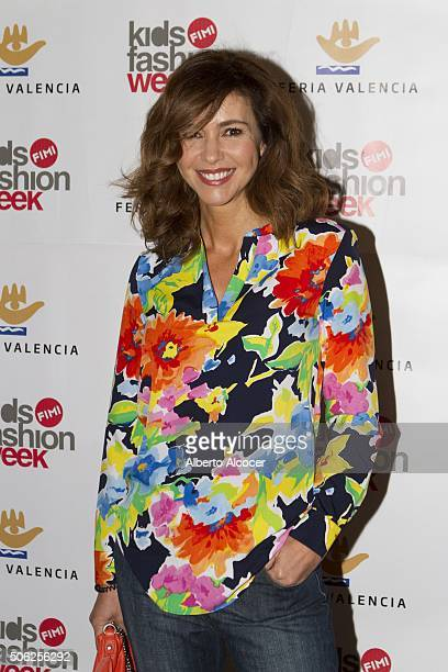 Arancha De Sol attends the 'NV' Fashion Show in Madrid on January 22 2016 in Madrid Spain