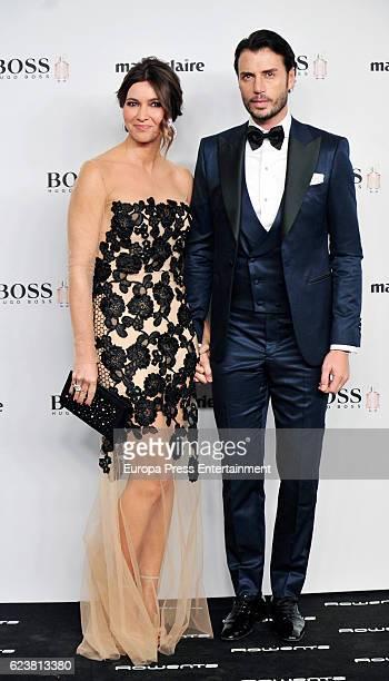 Arancha del Sol and Finito de Cordoba attend the XIV Marie Claire Prix de la Moda Awards at Florida Retiro on November 16 2016 in Madrid Spain