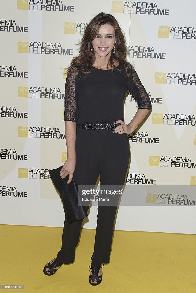Arancha del Sol attends Academia del perfume awards photocall at Casa de America on November 20, 2012 in Madrid, Spain.