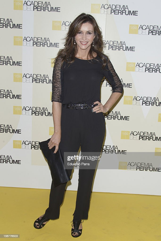 Arancha del Sol attends Academia del perfume awards photocall at Casa de America on November 20, 2012 in Madrid, Spain.
